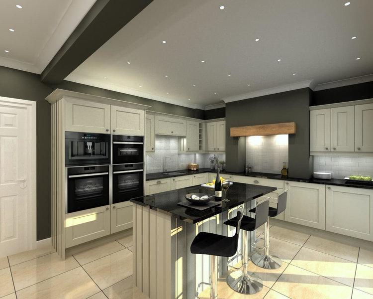 Uk kitchens kitchen fitters in nottingham nottinghamshire for Bespoke kitchen design nottingham