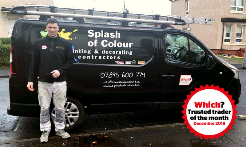 Sean Mckay, owner of Splash of Colour