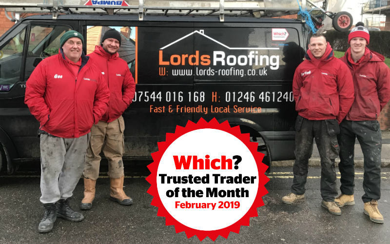 The Lords Roofing team