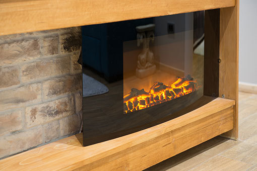 Fireplaces should you choose electric gas open or a for Choosing a fireplace