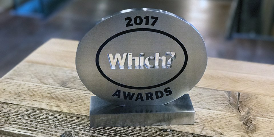 Which? Awards 2017 logo