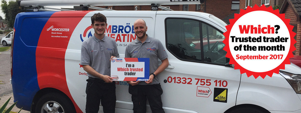 M Broer Heating Ltd Which? Trusted trader of the month September 2017