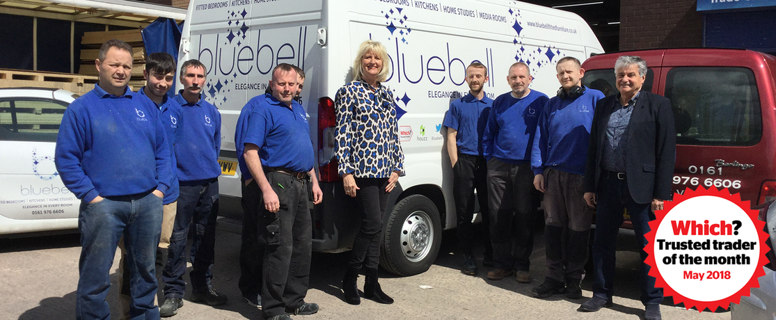 Bluebell Fitted Furniture Ltd - Which? Trusted trader of the month May 2018