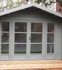 Square thumb bal insulated garden office 1