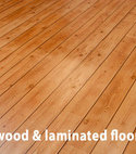 Square thumb hard wood and laminated floors