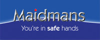 Profile thumb maidmans main logo blue background