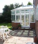Square thumb mini a hazlemere aluminium conservatory installation in beaconsfield  bucks