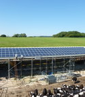 Square thumb dairy 33 kwp solar pv