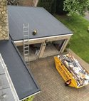 Square thumb 3 layer flat roof 3