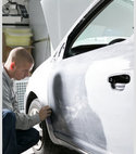 Square thumb body shop repair