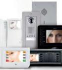 Square thumb bpt audio video entry systems