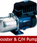 Square thumb booster ch pumps