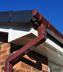 Square thumb gutters facias soffits