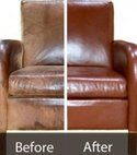 Square thumb ah leather seat