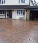 Square thumb block paving woodham