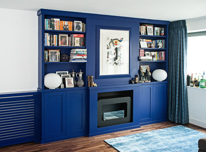 Primary thumb shaker style alcove unit and with contemporary radiator cover bespoke furniture storage unit shelves custom solid wood painted cupboard bookcase alcove unit wardrobe made to measure