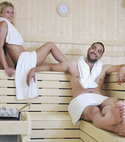 Square thumb 011751818 happy young couple sauna
