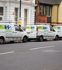 Square thumb vans on street h2 property services