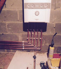 Square thumb boiler installation i gas engineers
