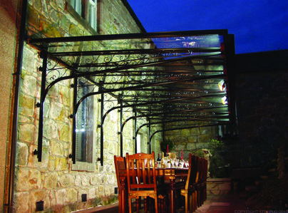 Primary thumb canteliever glass patio veranda canopy
