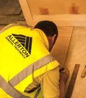 Square thumb carpenter joiner working barnsley