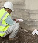 Square thumb chemical damp proof course yorkshire