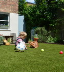 Square thumb artificial grass east finchley