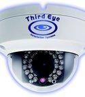 Square thumb dome cameras with logo x jan16