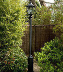 Square thumb lamp post