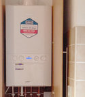 Square thumb little crosby boiler fitted baxi 1