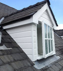 Square thumb dormer after