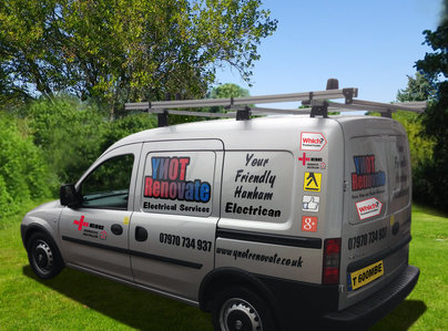 Primary thumb van electrical