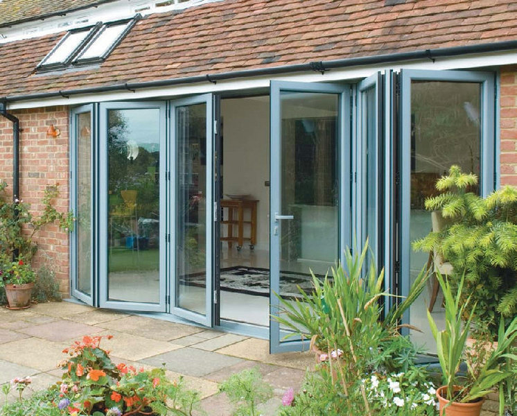 Alfresco Timber Pane Glass Doors