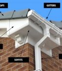 Square thumb dry verge   soffit area