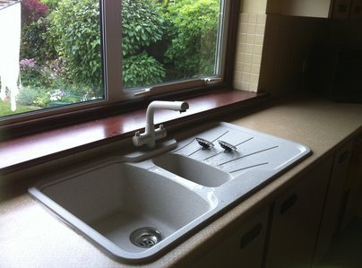 Primary thumb inset kitchen sink i fitted