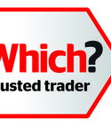 Square thumb which trusted trader logo