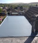 Square thumb bingley roofing fibreglass roof  1