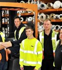 Square thumb colourbank carpets leicestershire warehouse staff