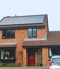 Square thumb solar pv panels ely
