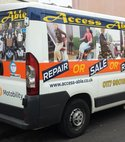 Square thumb repair sale rent van