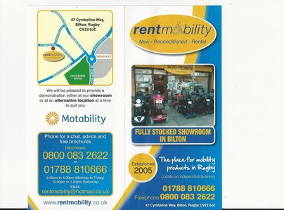 Primary thumb rent mob flyer