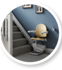 Square thumb companionstairlift 950compact