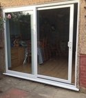 Square thumb patio master doors