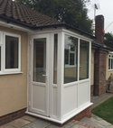 Square thumb pvcu rear porch