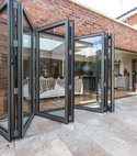 Square thumb orangery aluminium bi fold doors sussex 1