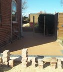 Square thumb block paving 1
