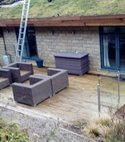 Square thumb wilsil decking