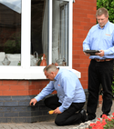 Square thumb damp proofing and property care