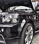 Square thumb range rover black