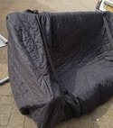 Square thumb sofa cover